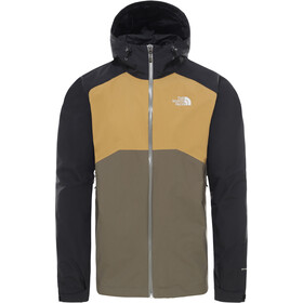 The North Face Stratos Kurtka Mężczyźni, new taupr green/tnf black/british khaki